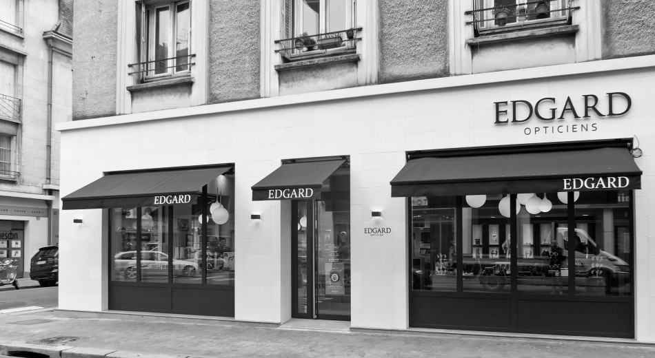 Magasin de Tours - Façade rue Marceau
