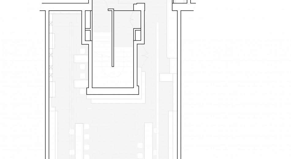 Magasin de Caen - Plan du rez-de-chaussée